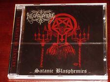 Necrophobic: Satanic Blasphemies CD 2012 Reissue Hammerheart UK HHR2012-20 NEW