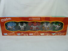 BEIJING 2008 FUWA OLYMPIC 5 PLUSH MASCOTS IN WINDOW BOX NEW