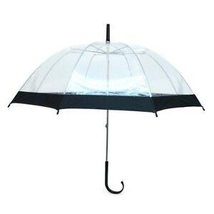 Kids' See-Thru Clear & Color Border Umbrella