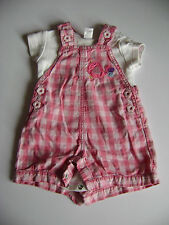 Dungarees NEXT Trousers & Shorts (0-24 Months) for Girls