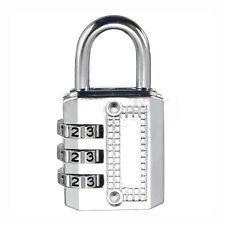 Combination Padlock Travel Suitcase Luggage Lock Password Reset Type: 3 # ZH
