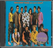 CD ALBUM 12 TITRES--WAS (NOT WAS)--ARE YOU OKAY--1990