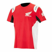 Alpinestars Honda Collection Red White Short Sleeve T-Shirt Tee NEW