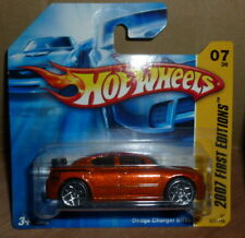 Hot Wheels Dodge Charger SRT8 First Editions Short Card 2007 07/36 **