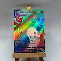 Charizard / Glurak V MAX Pokemon Card in Holo not original