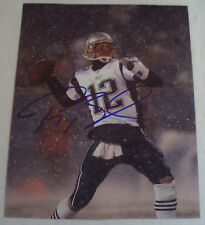 TOM BRADY New England Patriots Autographed 8x10 Photograph AUTOGRAPH * NFL GIFT