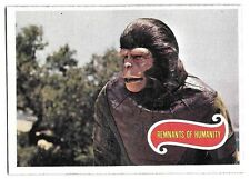 PLANET OF THE APES MOVIE CARD NO 8 REMNANTS OF HUMANITY  TOPPS NRMINT+ 5078