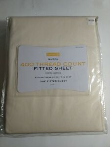 Queen Size 400 Thread Count Fitted Sheet 100%Cotton.