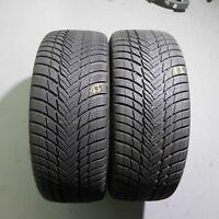 2x Bridgestone Blizzak LM001 AO 245/45 R20 103W DOT 2419 7 mm Winterreifen