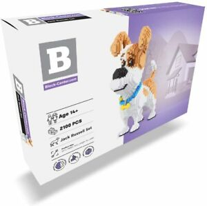 Jack Russell 2100 pcs Nanoblock Dog Building Set - 3D Mini Blocks Puzzle