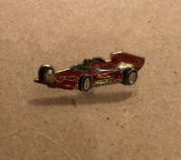 Vintage Pennzoil Indy Car Lapel Pin Enamel Red