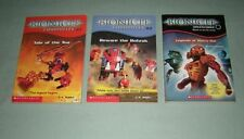 BOOKS Bionicle chapters LOT OF 3