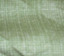 """Ralph Lauren Green White Weave Plaid 18"""" Drop King Bedskirt Dust Ruffle"""