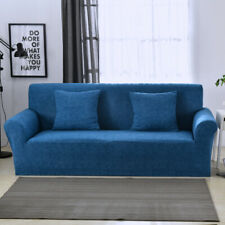 Easy Fit Stretch Sofa Slipcover Protector Elastic Soft Couch Cover 1/2/3/4 Seats