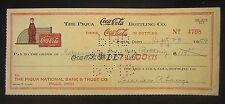 Sept. 23, 1959 Coca Cola Bottling Co. Signed Canceled Check