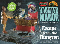 Polar Lights Haunted Manor Escape from the Dungeon 1:12 scale model kit new 972