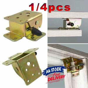 4Pcs Folding Table Leg Self Lock Extension Brackets Fittings Foldable Hinge DIY