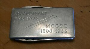 MOOSEHEART Orphanage Money Clip 1913-1963