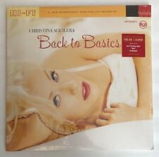 Christina Aguilera - Back To Basics - SEALED / NEW Limited Ed On Red Color Vinyl