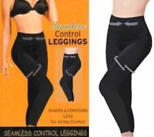 SEAMLESS HIGH WAISTED SEAMFREE FIRM TUMMY CONTROL SLIMMING LEGGINGS,BLACK 8-30
