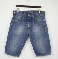 LEVI STRAUSS & CO. ENGINEERED JEANS Men's LARGE Fade Effect Denim Shorts 24108-S