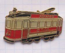 TICE / LXEMBOURG / STRAßENBAHN ............ Strassen-/Eisenbahn-Pin (131e)