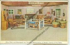 ELSIE,ELMER AND BEAURGARD-BORDEN-PLAYPEN-ADVERTISING-(DAIRY-30*)