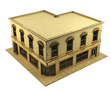 28 mm Public house. laser cut 2 mm MDF