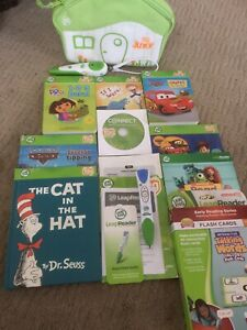 Leap Frog Tag Junior Reader And Books Leap reader Lot 2 Readers 6 Books Flash