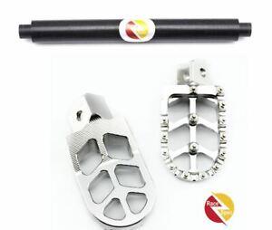 Sur-ron Silver CNC foot rests and brace bundle