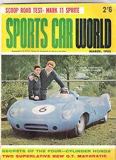 Sports Car World 1962 Mar NSU Prinz Maserati 5000 Holden FE Austin Healey Sprite