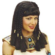 SCHWARZE CLEOPATRA PERÜCKE # Ägypten Pharao Kleopatra Königin Kostüm Party 6316