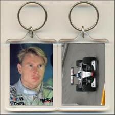F1 Champions. 1998 Mika Hakkinen. Keyring / Bag Tag.