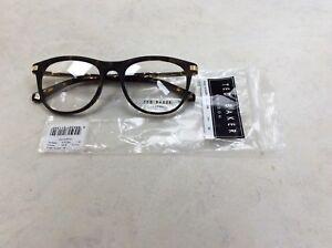 Ted Baker ZACH 8176 145 Tortoise Gold size 52x18 plastic glasses designer