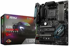 MSI AMD Ryzen X370 DDR4 VR Ready HDMI USB 3 SLI CFX ATX (X370 Gaming Pro Carbon)