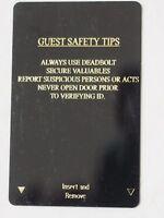 DESERT INN Hotel & Casino Emergency Supply Room Door Key Cards