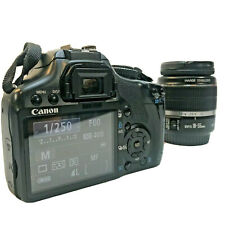 Canon EOS Rebel XSi DSLR Camera with EF-S IS 18-55mm Lens Black