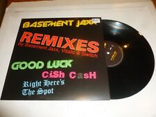 "BASSMENT JAXX - Good Luck - 2004 UK 3-track 12"" vinyl single"