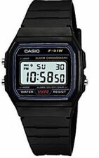 ORIGINAL CASIO F-91W ALARM CHRONOGRAPH CLASSIC DIGITAL STRAP WATCH BLACK GENUINE