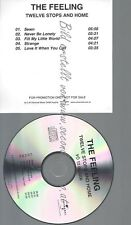 CD--PROMO--THE FEELING--TWELVE STOPS AND HOME