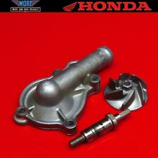 2004 Honda CRF450 Water Pump Cover Impeller Case 02-08 19221-MEB-670