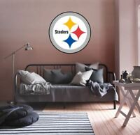 Pittsburgh Steelers NFL Team Logo Color Printed Decal Sticker Car Window Wall