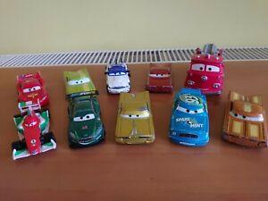 Disney Pixar Cars diecast Bundle x10