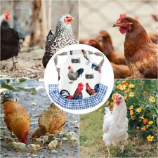 Care Aprons Chicken Saddle For Hens Feather Fixer Clothes Chicken Bedding