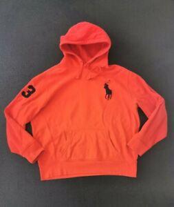 Polo Ralph Lauren Red Men's Large Pony Hoody Size XL