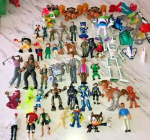 Vintage Action Figure Mixed Lot (45) Figures With Some Accessories 1990's- 00's