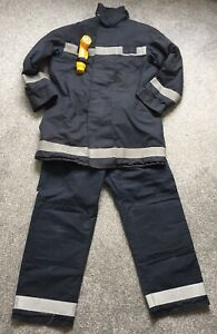 Bristol Firefighter Kit Tunic and Trousers Early 2000's Fireman uniform torch