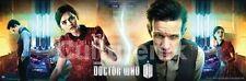 POSTER Doctor Who Centre of Tardis BBC Matt Smith and Jenna Coleman