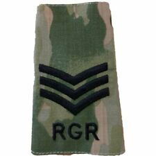 Rank Slide - RGR - Multicam - Sgt - Sergeant