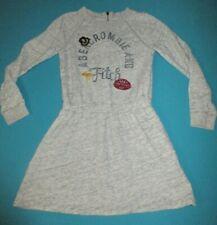 ABERCROMBIE & FITCH Girls Gray Sweatshirt Long Sleeve Dress Size 13/14